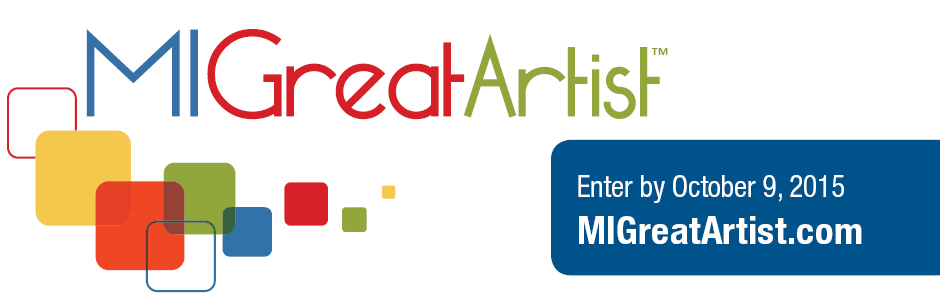 MI Great Artist contest submission deadline is October 9th.