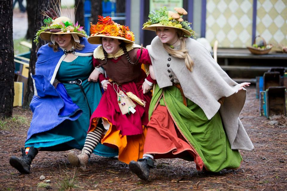 Witches and celebration at the Renaissance Festival