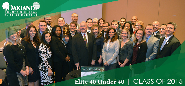 Elite 40 Class of 2015 Group Picture.