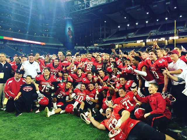 Orchard Lake St. Mary's after their Championship win.