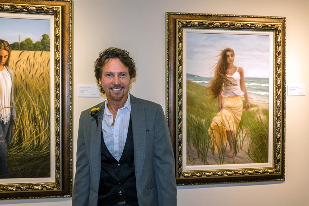 2017 MI Great Artist winner Thomas Tunney of Commerce Township