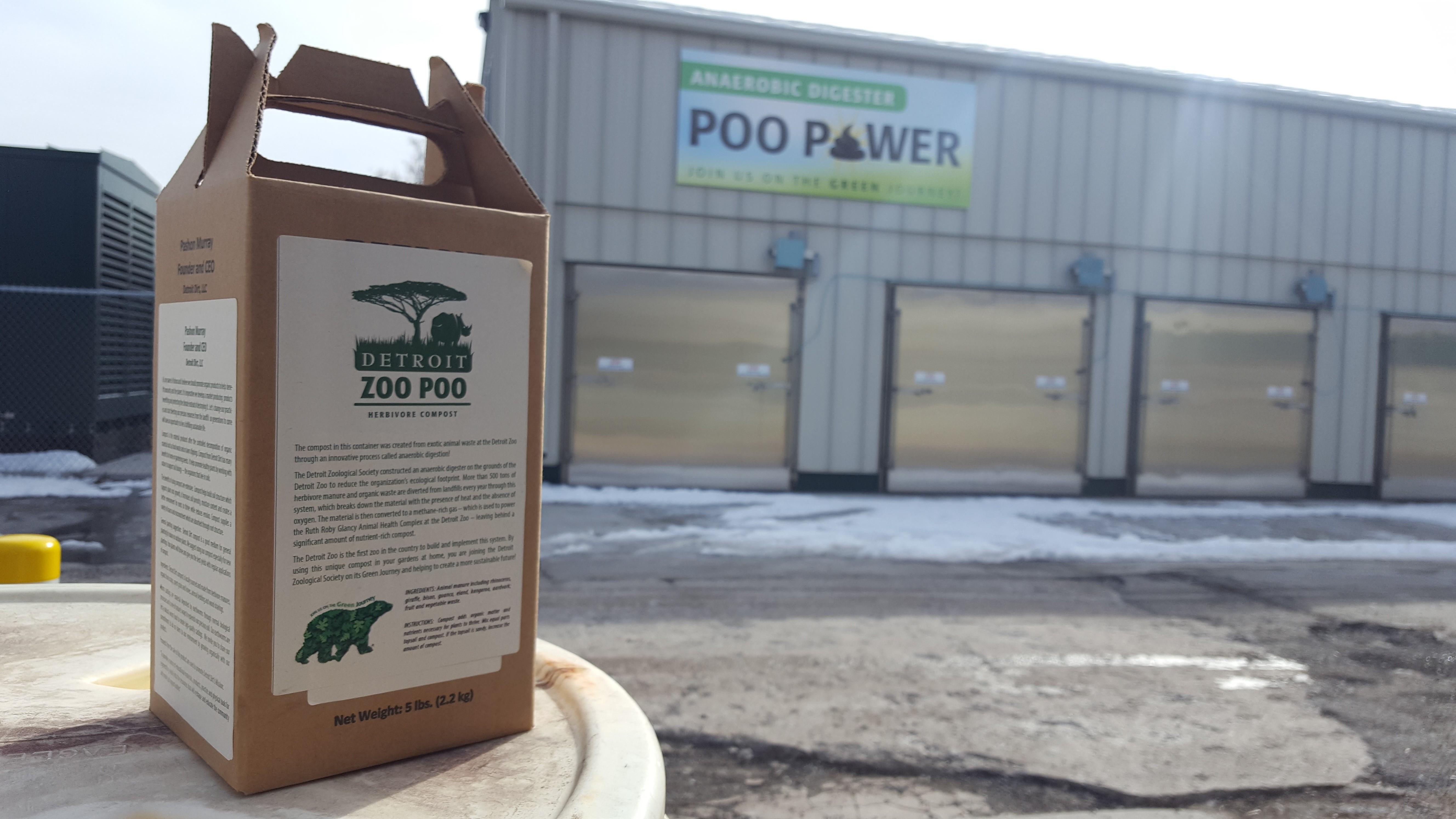 Zoo Poo - Anaerobic Digester - Jake Rapanotti