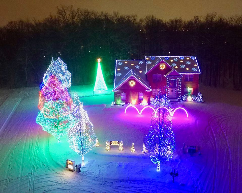 Oakland County Holiday Lights Map