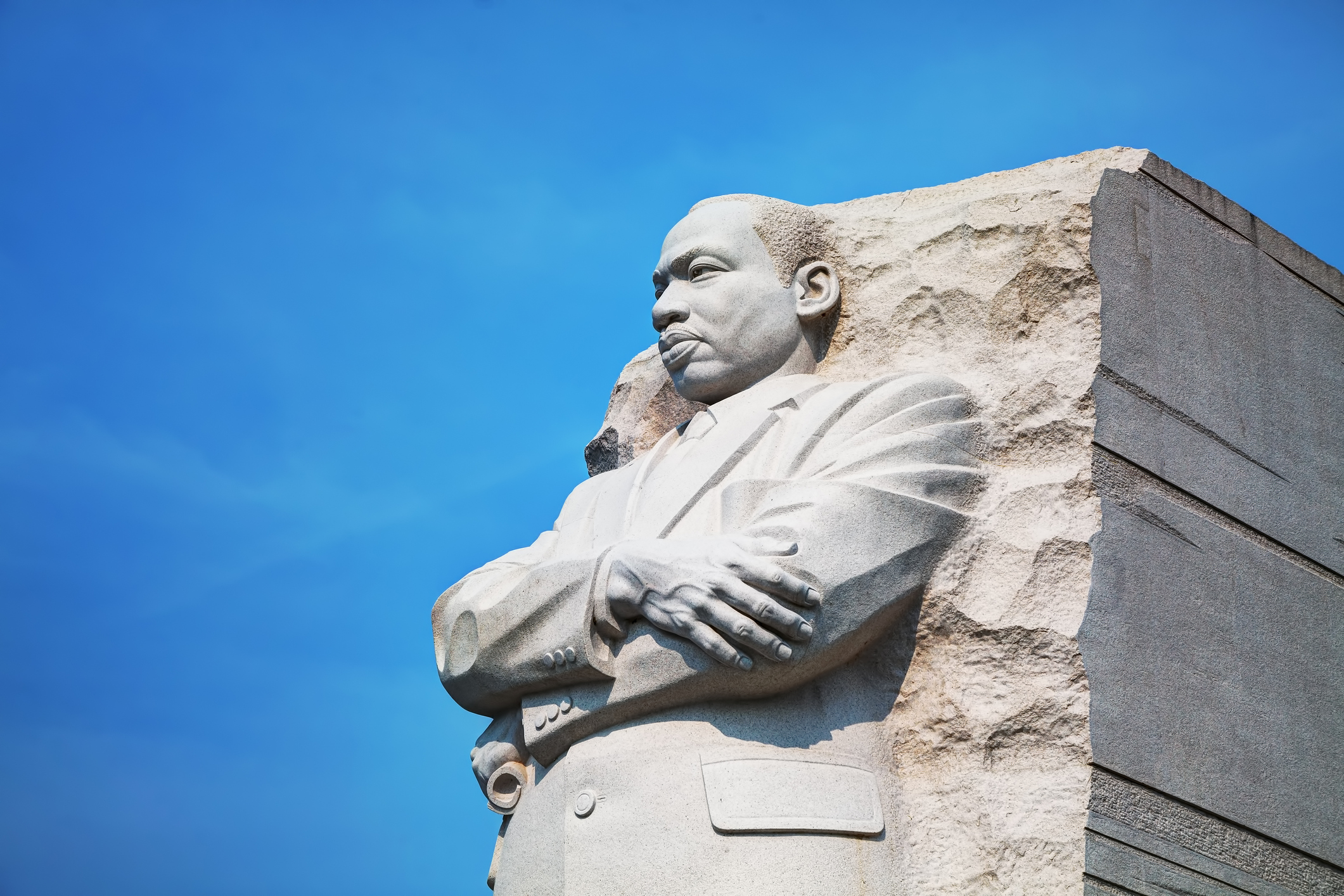 Washington: Martin Luther King, Jr memorial monument on September 2, 2015 in Washington, DC.