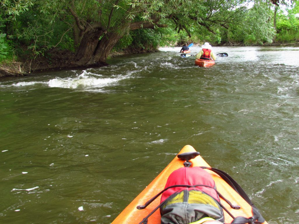 Kayakers point of view